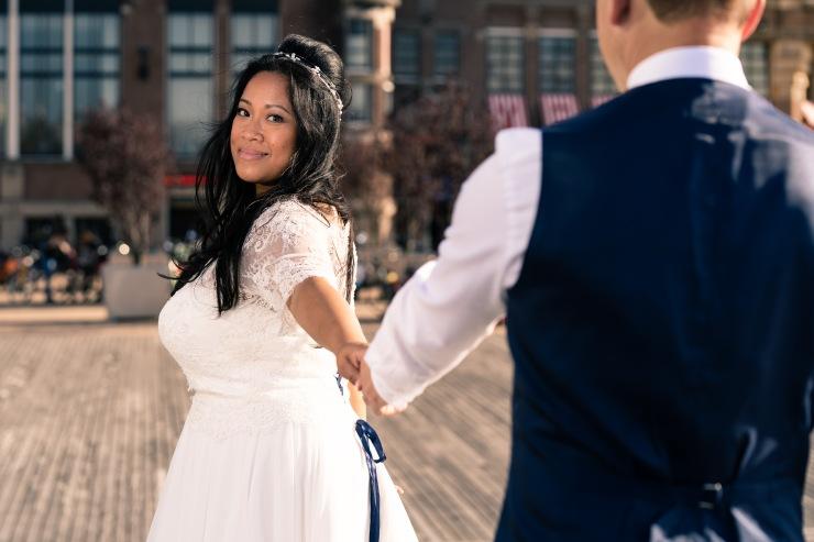 bruiloft wedding rotterdam portret fotografie photography fotograaf trouwerij